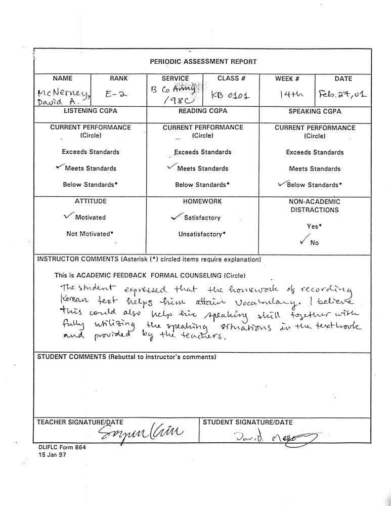 022701 class assessment report