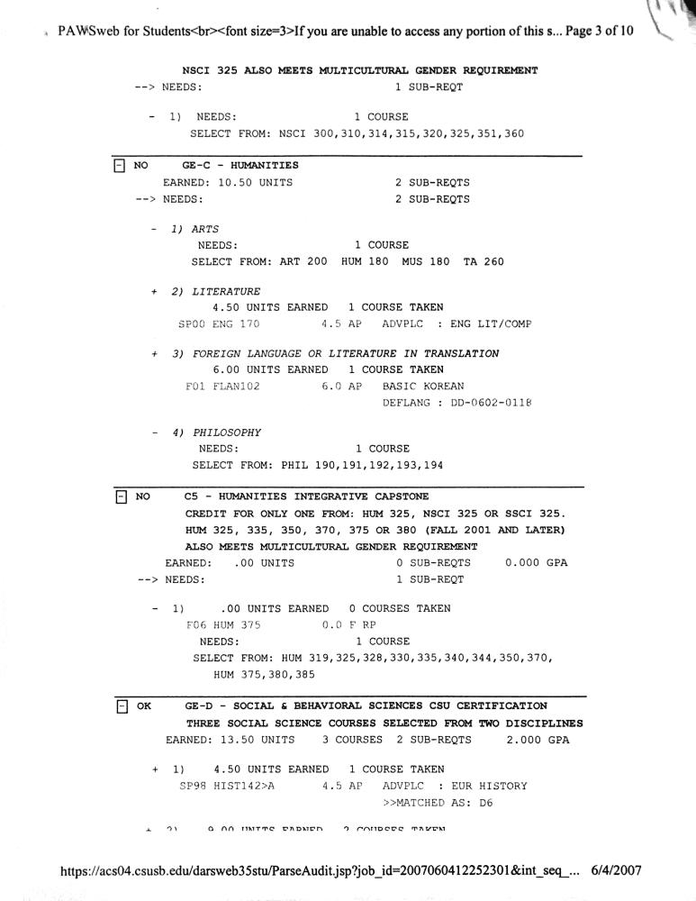 060407 university transcripts 2
