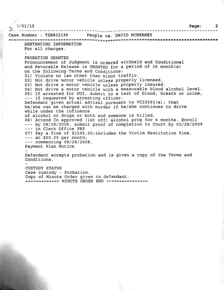 DUI paperwork 2