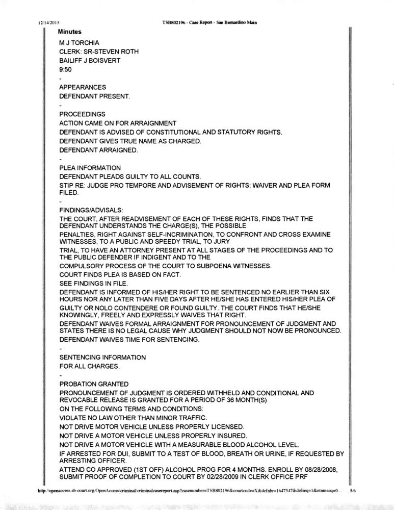 DUI paperwork 8