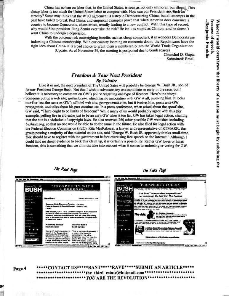 undergrond HS newspaper 4