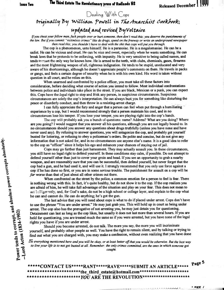 undergrond HS newspaper 5